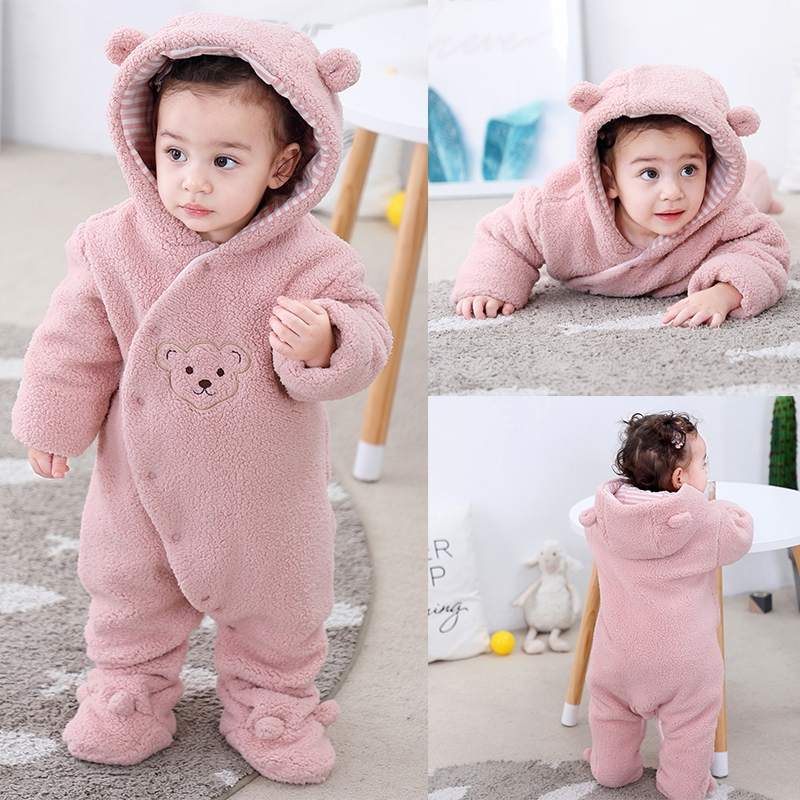 Fairy Baby Cute Baby Boy Outfits Baby Grows Long Sleeve Romper Suit Jumpsuits with Hat 0-24 Months