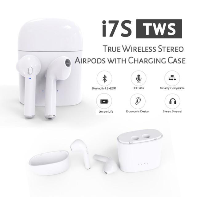 e91d2b2e36d Mini TWS K2 Twins Wireless Bluetooth Stereo Headset In-Ear Earphones Earbuds  | Shopee Malaysia