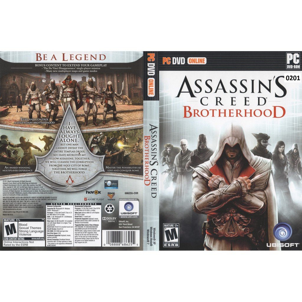 (PC) Assassin's Creed Brotherhood Complete Edition