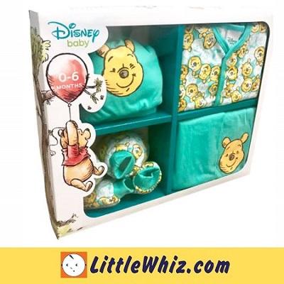 Disney Baby Cuties Gift Set - Green - Winnie The Pooh