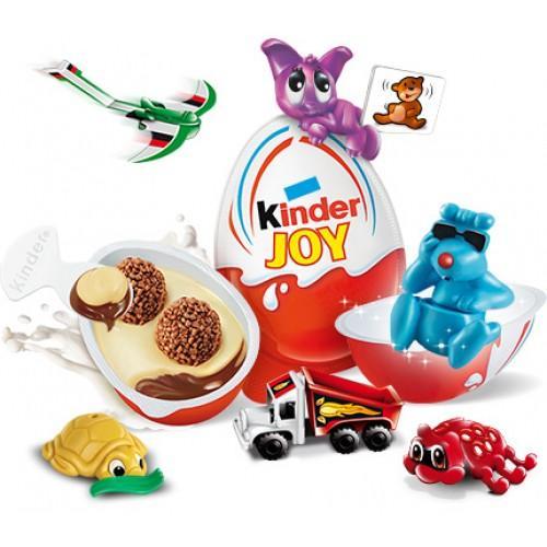 Kinder Joy - Boys + Girls (20g x 10 Pcs)