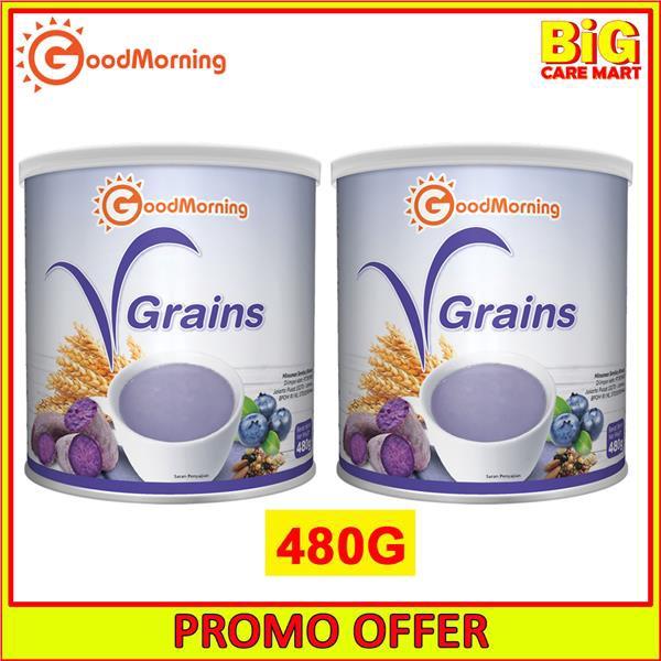 Good Morning VGrains 18 Grains 480g X 2 tins