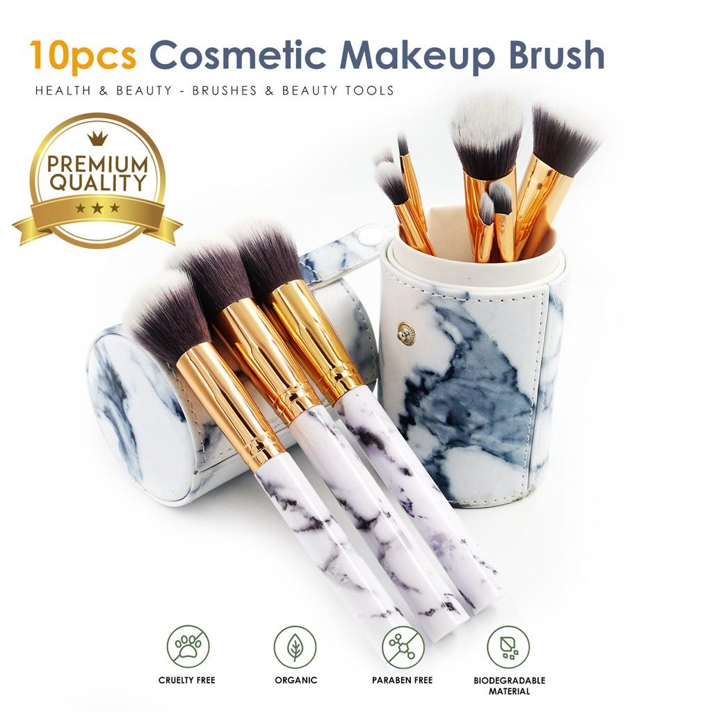 Beginner Makeup Brush Set Unicorn Complete Brush Makeup Tools Wet and Wild Serie | Shopee Malaysia
