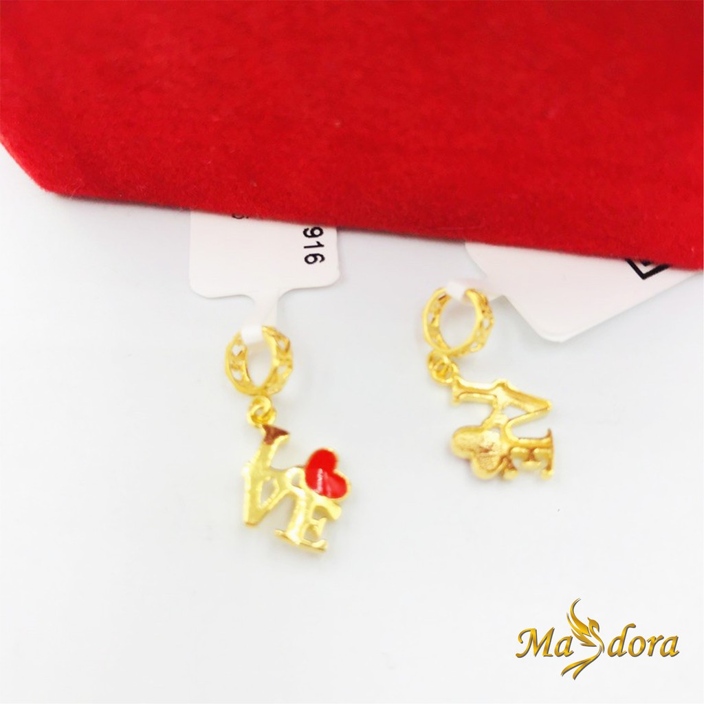 Masdora Charms and Beads ~ Sempua Series (Emas 916)