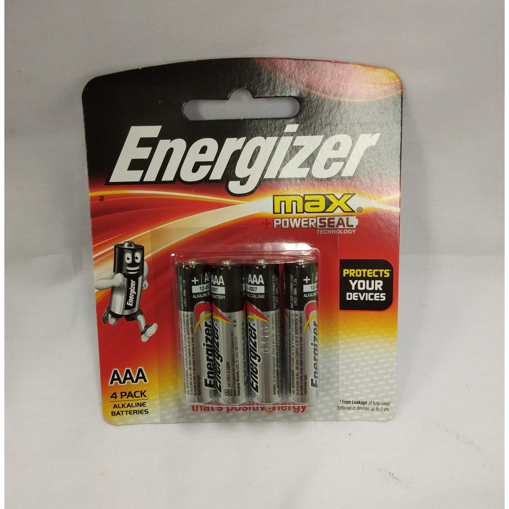 Energizer 2 Aaaa Max Alkaline Battery E96 Shopee Malaysia E92 Aaa Bp 4