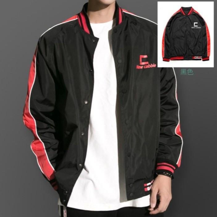 b27ec669ce Street hip hop trend baseball uniform windbreaker men and women loose jacket