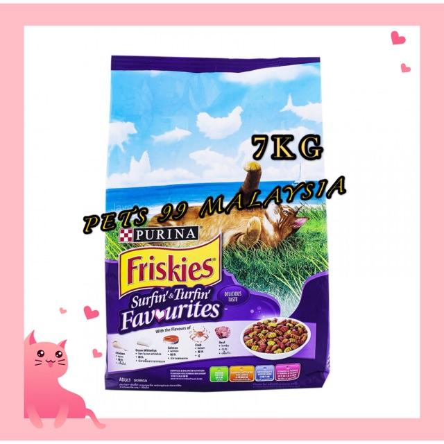 Makanan Kucing Friskies 7kg Cat Food Shopee Malaysia