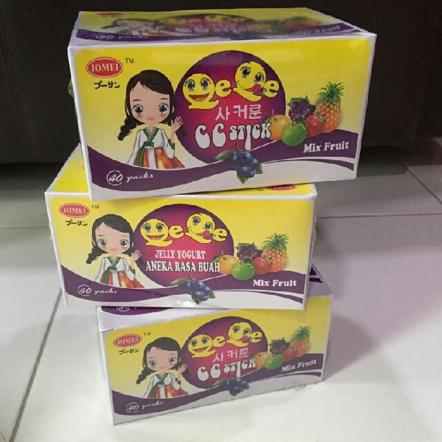 40 Packs Jomei CC Stick Mix Fruit (READY STOCKS)