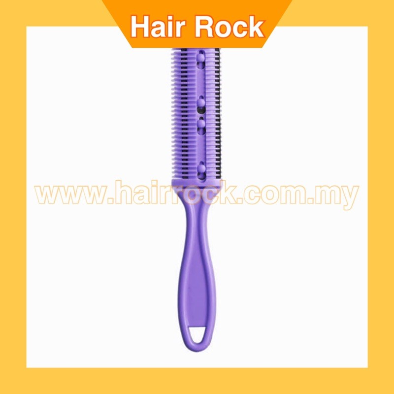 Professional Plastic Hair Trimmer Comb Brush Dual Side
