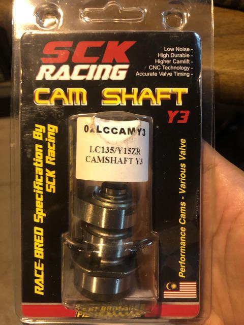 SCK Racing Cam Shaft Y1/Y2/Y3 LC135 | Shopee Malaysia