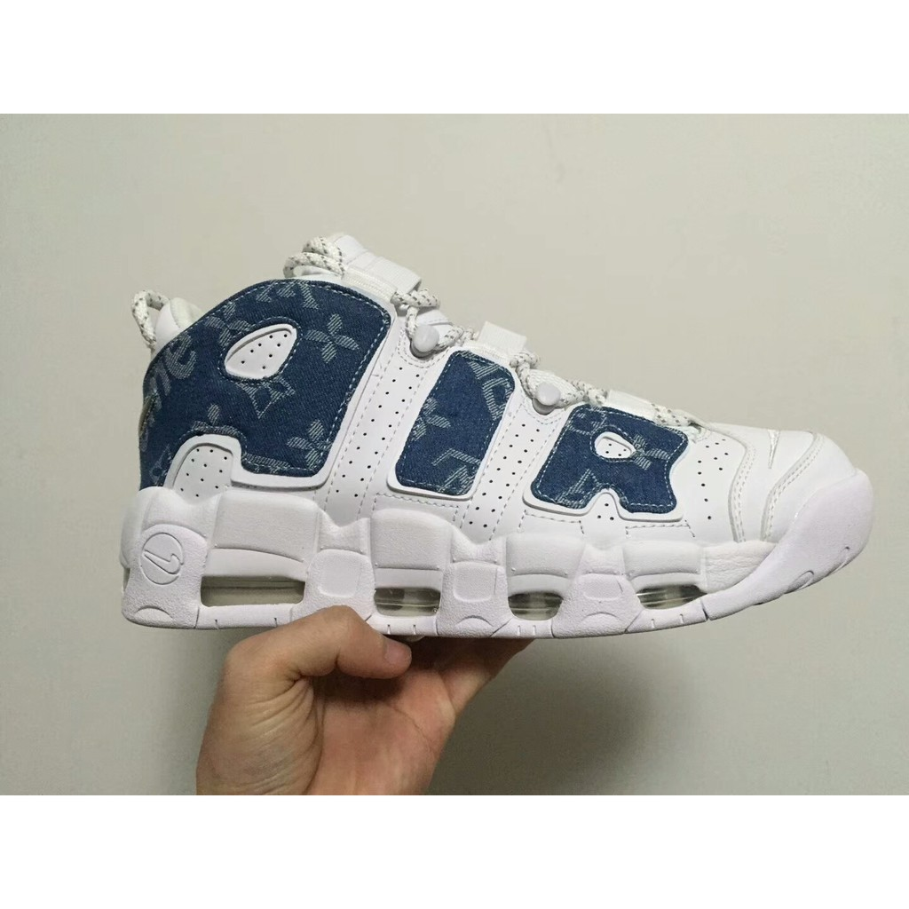 Immaginazione Specificato Spinta  Louis Vuitton x Supreme x Nike Air More Uptempo | Shopee Malaysia