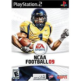 PS2  NCAA Football 09 / NCAA March Madness 08 [Burning Disk]