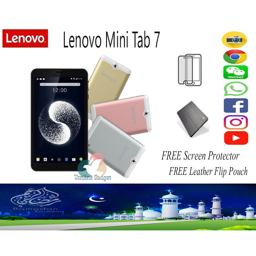 Ready Stock LENOVO TAB 7 0 ( 2GB RAM / 16GB ROM )