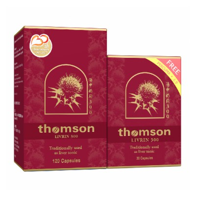 Thomson Livrin 300mg 120s + 30s ( Limited Offer 1 week only )