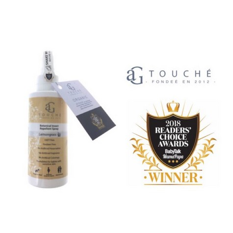 AG Touché Botanical Insect Repellent Spray (120ml)