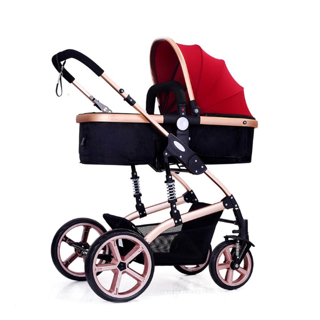 High View Pram Travel System 3 in 1 Combi Stroller Baby Child Pushchair