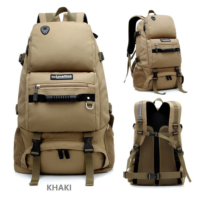 e22ee7204f2a Local Lion LL055L Camping Travel Waterproof Hiking Backpack with Handle  (50L)