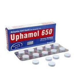 Uphamol 650 10tablets