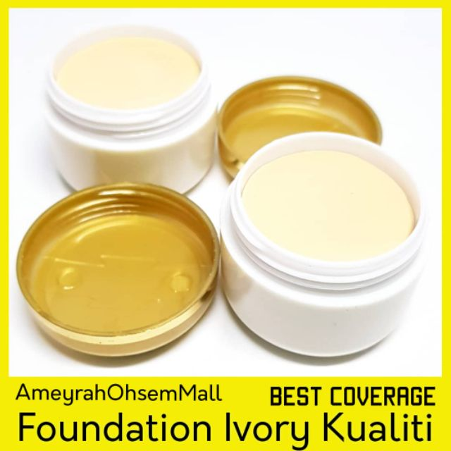 Foundation Ivory Tutup Parut Good Coverage