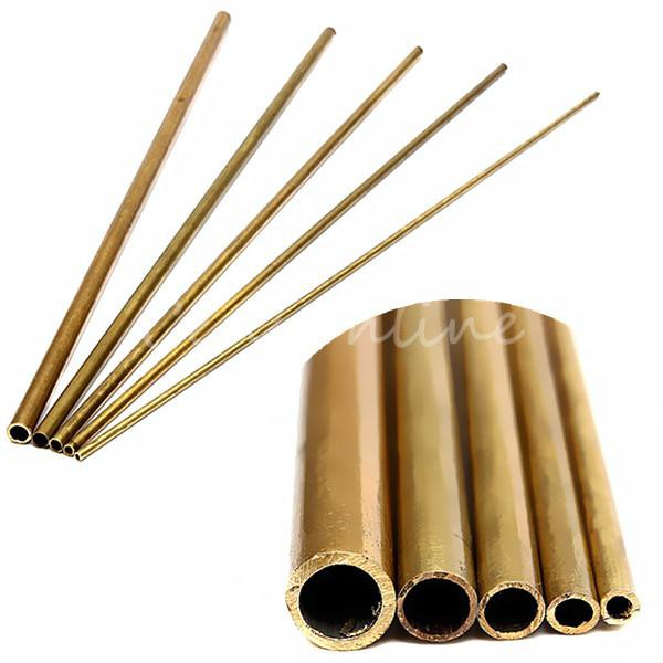 select pack size 5mm brass tube 0.45mm wall