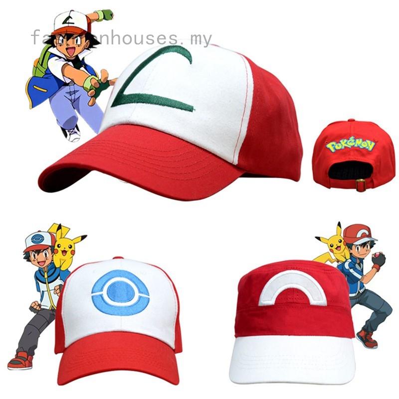 684389c98996d MER-Pokemon Go Cap Hat Team Valor Team Mystic Team Instinct Pokemon Cap  Pokemon | Shopee Malaysia