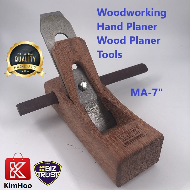 """KIMHOO HEAVY DUTY 7"""" & 10"""" Woodworking Hand Planer Wood Planer Tool Trimming Tools For For Carpenter Woodcraft Tool"""