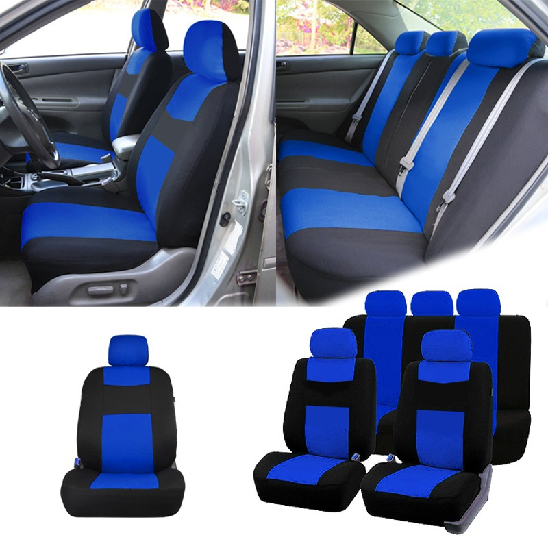 GDeal Automotive Universal 5 Seater Car Seat Cover Comfortable Durable Seat Cover