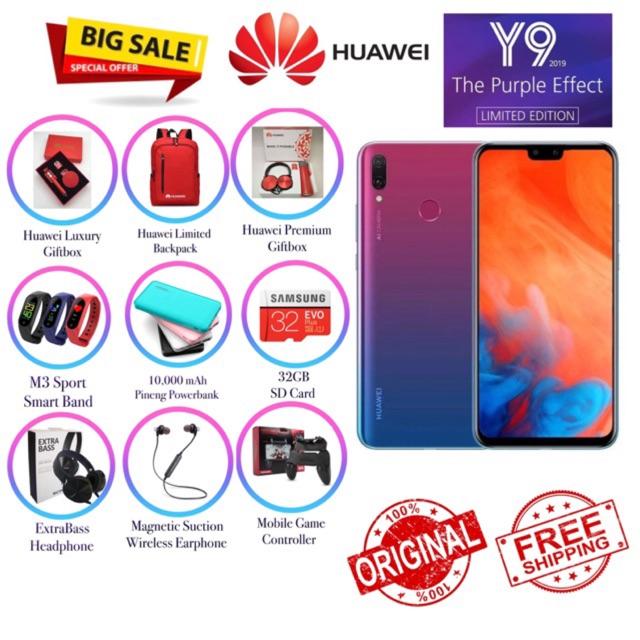 🎈Huawei Y9 2019 [4+64GB] 🎁 Original Huawei