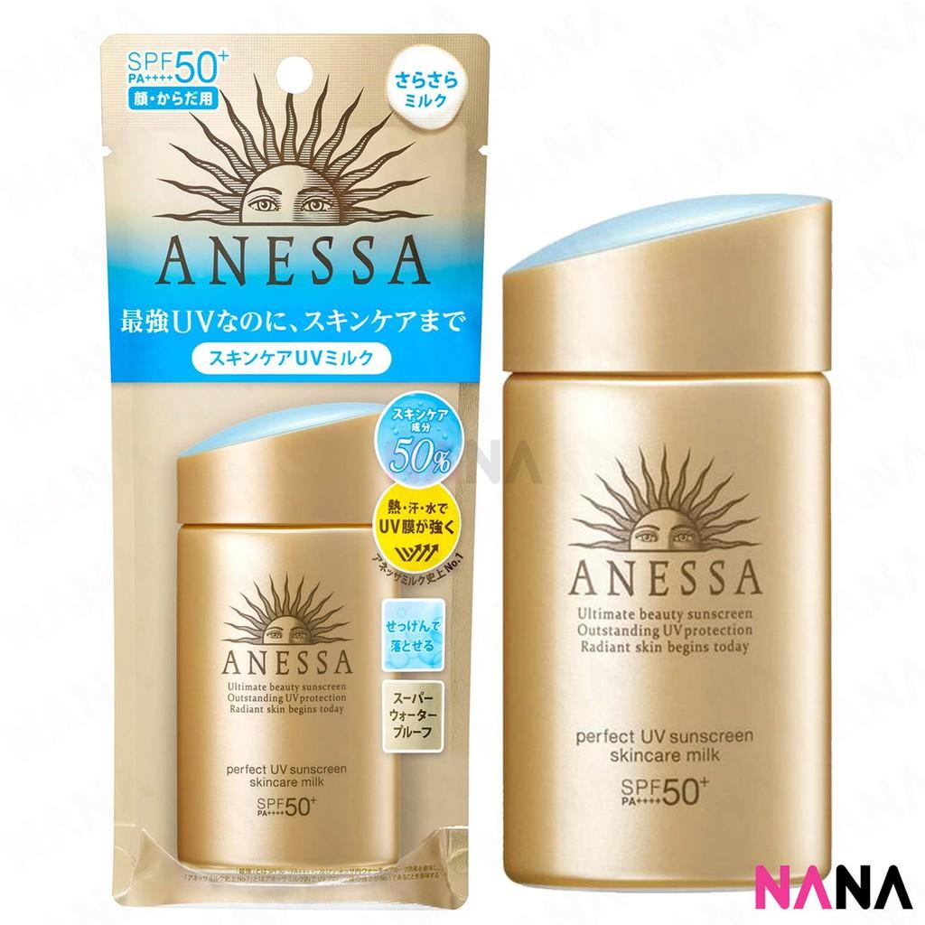 Uv Anessa Shiseido Spf50 Skin Pa Sunscreen Perfect 60ml Gold Normal