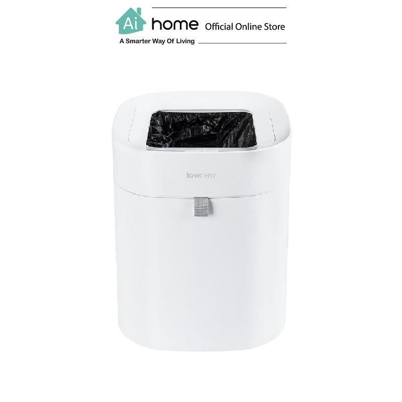 TOWNEW Intelligent Smart Rechargeable Trash Bin (T1) (T Air) with 1 Year Malaysia Warranty