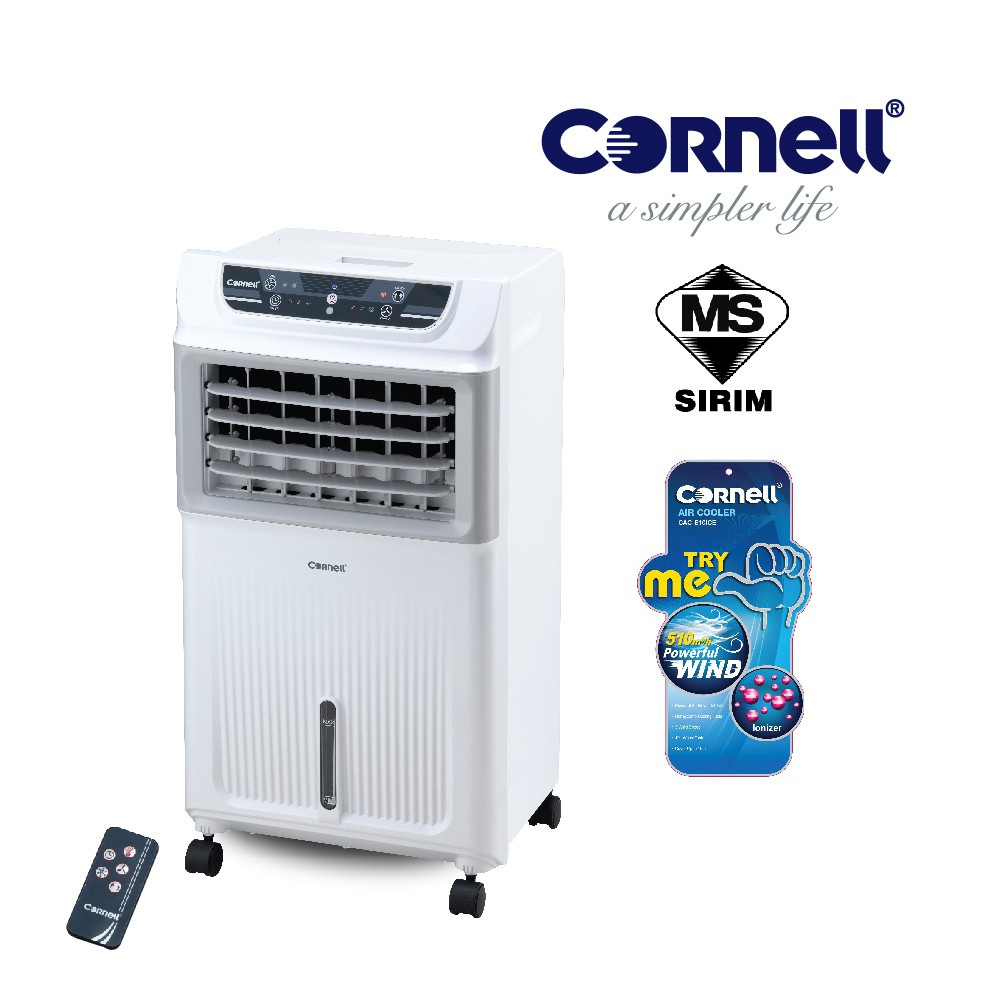 Cornell CAC-E10ICE Air Cooler - with Low water alarm