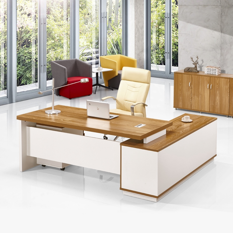 Manager Table Boss Table High End Office Furniture Modern Plate Executive Desk Boss Desk Chair Combination Supervisor Table Bg257 Shopee Malaysia