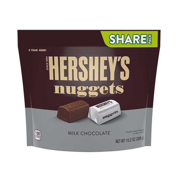 Hersheys Nuggets Milk Chocolate 289g [Ice Pack Included]