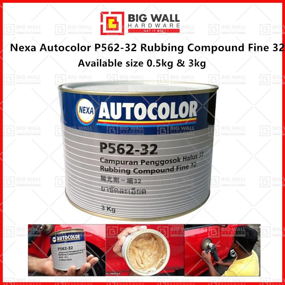 Nexa Autocolor P562-32 Rubbing Compound Fine 32 Big Wall Hardware