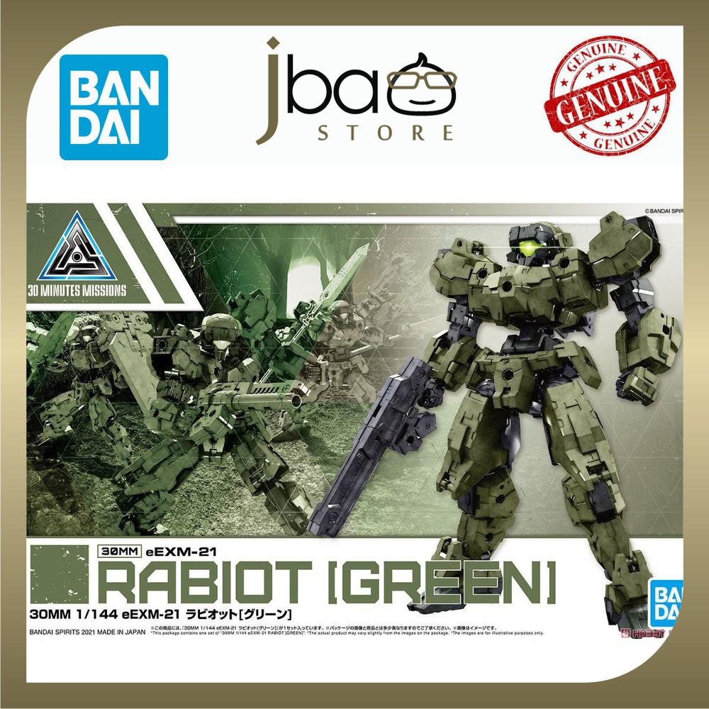 Bandai 36 1/144 30MM eEXM-21 Rabiot Green 30 Minutes Missions Plastic model