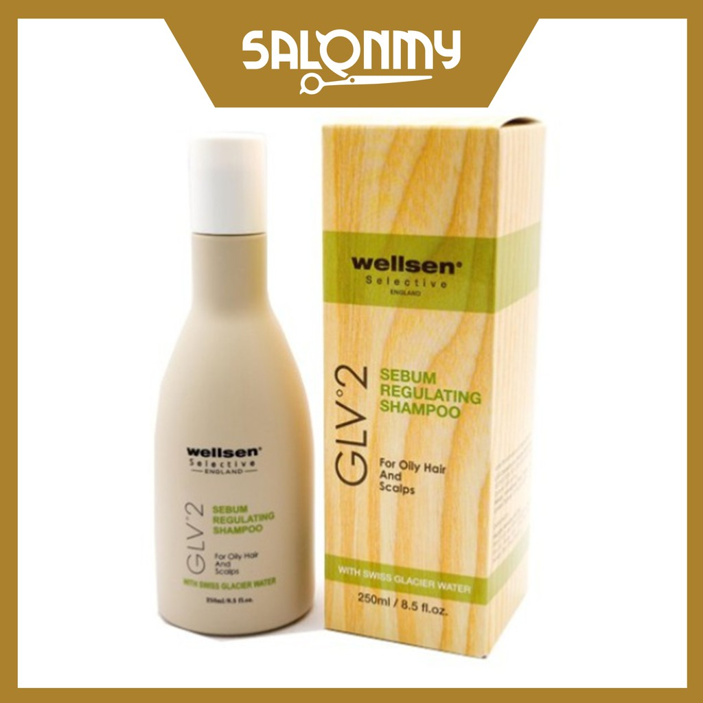 Wellsen Sebum Regulating Shampoo 250ml