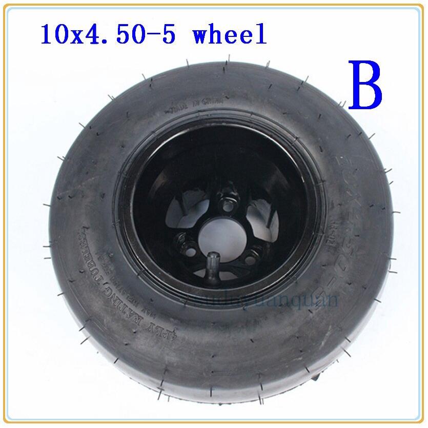 16x7.50-8 TIRE RIM WHEEL ASSEMBLY Lawn Mower Garden Tractor Go Kart R-1 4-Hole