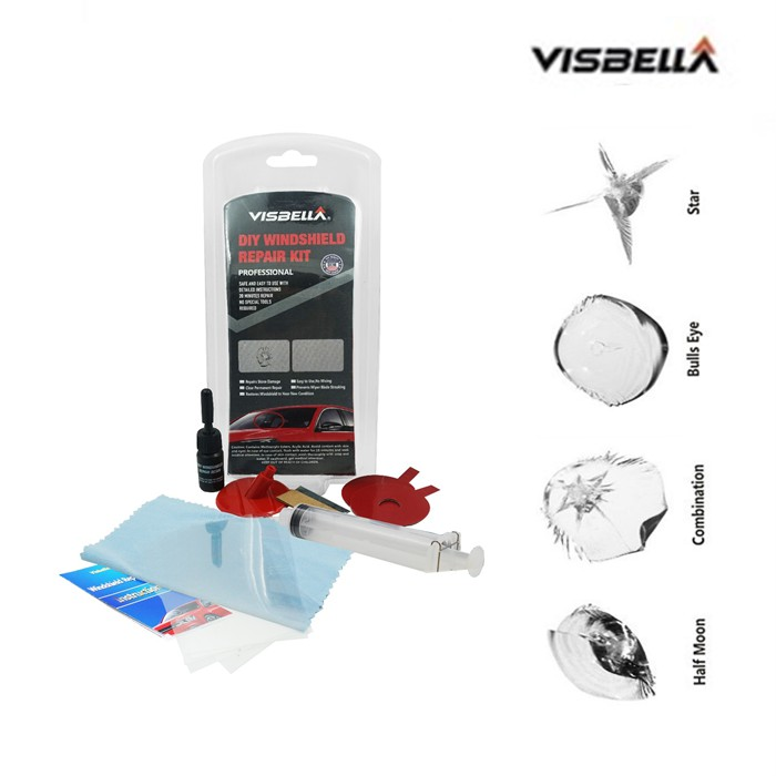 Visbella Diy Windshield Repair Kit | Shopee Malaysia