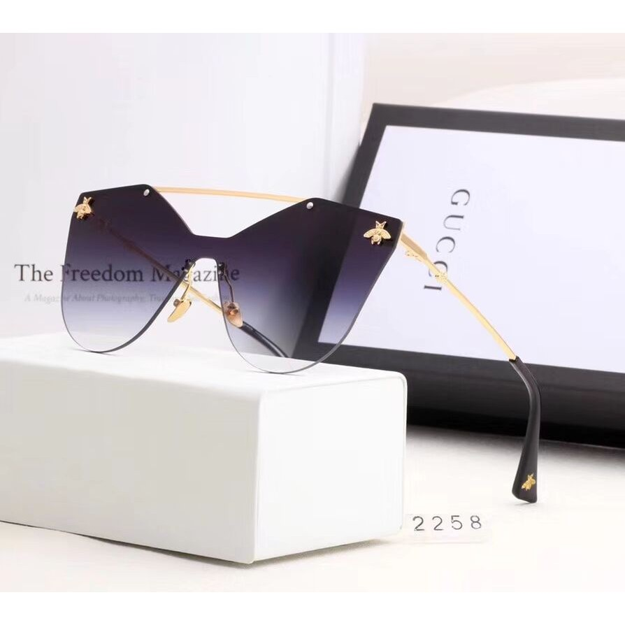 3f20384bba0 Gucci women Fashion frameless sunglasses