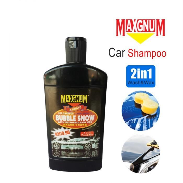 MALAYSIA: BUIH PENCUCI KERETA / Bubbles Strong Penetration Car Shampoo Wash and Wax / Auto Uv Protectant