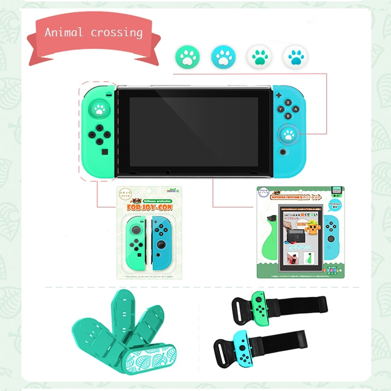NS Switch Animal Crossing Console Case PC Hard Shell Cases ...