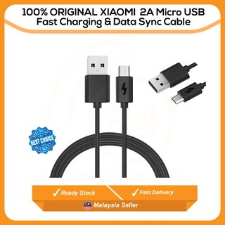 100% Original OPPO VOOC FLASH Fast Charging Micro USB Charging & Sync Data Cable | Shopee Malaysia