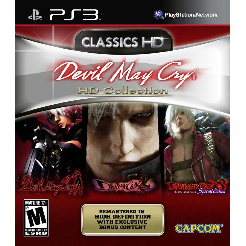 PS3 Devil May Cry HD Collection (R2) (English) (New)