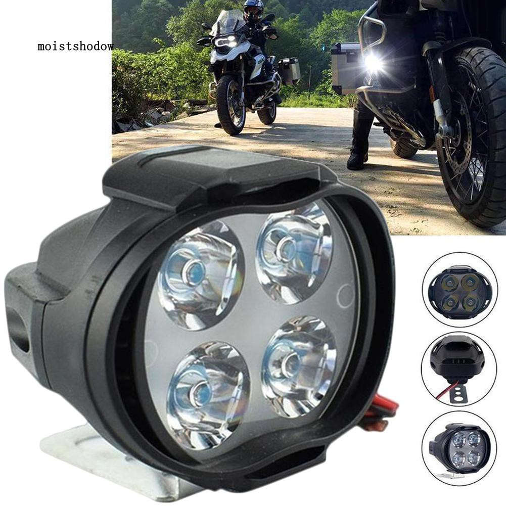 High Bright 12-85V 12W LED Spot Light Head Lamp Bulb Motor Bike Car Motorcycle