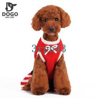 Dog Christmas Sweater.Dogo Will Dog Christmas Sweater Skirt Dog Clothes Pet Clothes Red Skirt Cat Can