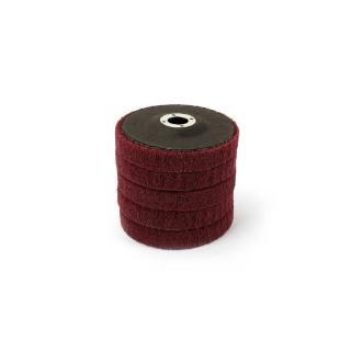 5Pcs 4 Inch Nylon Fiber Flap Polishing Grinding Wheel Disc 240 Grit