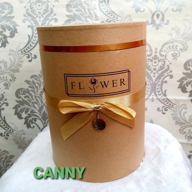 Hard Cover Crafts Gift Box for Bouquet Gift Size S M L / Kotak Hard Gift Bunga Bouquet Size S M L