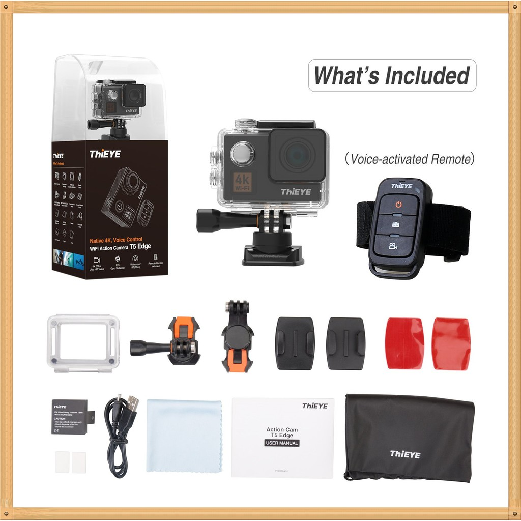 4k Eken H6s Wifi Native Full Eis Image Stablization Lcd 2touch Action Camera H3r Ultra Hd Bult In Remote Control Cam Screen 095 Shopee Malaysia