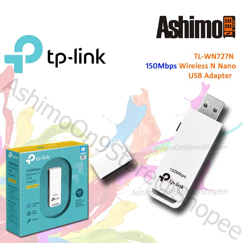 TP-LINK WN727N Nano Wireless N USB WiFi Adapter Receiver