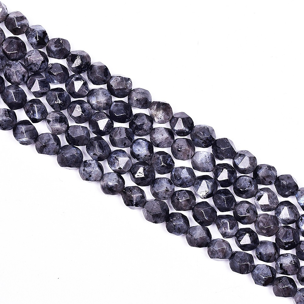 """faceted round natural gemstone 4mm 6mm 8mm 10mm spacer beads strand 15.5/"""" DIY"""